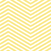 yellow ikat chevron stripe