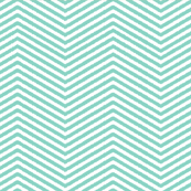 teal ikat chevron stripe