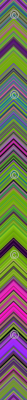 CHEVRON 1 LAMP PSYCHEDELIC FEVER GREEN LIME VIOLET FUCHSIA PINK