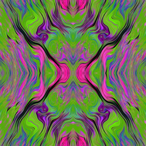LAVA LAMP GREEN LIME VIOLET FUCHSIA PINK  XL FUSION 1