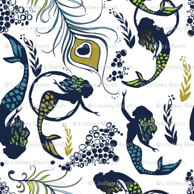 mermaid feathers