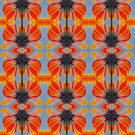 Gallardia Kaleidoscope fabric by hope_martin on Spoonflower - custom fabric