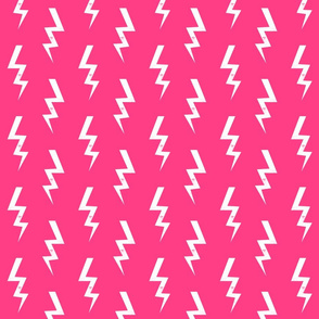 bolt fabric halloween lightning bolt design super hero bolt design bright pink