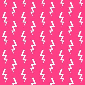 bolt fabric halloween lightning bolt design super hero bolt design bright pink