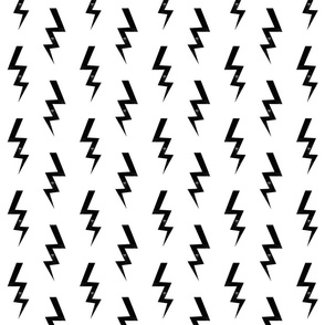 bolt fabric halloween lightning bolt design super hero bolt design bw