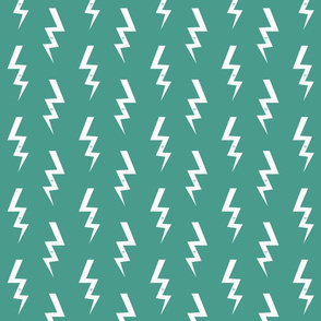 bolt fabric halloween lightning bolt design super hero bolt design dark green