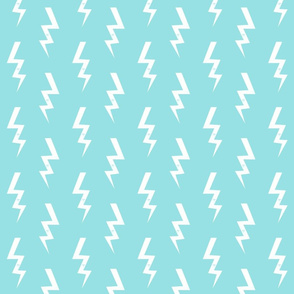bolt fabric halloween lightning bolt design super hero bolt design ice blue