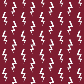 bolt fabric halloween lightning bolt design super hero bolt design marroon