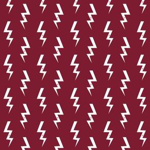 bolt fabric halloween lightning bolt design super hero bolt design marroon