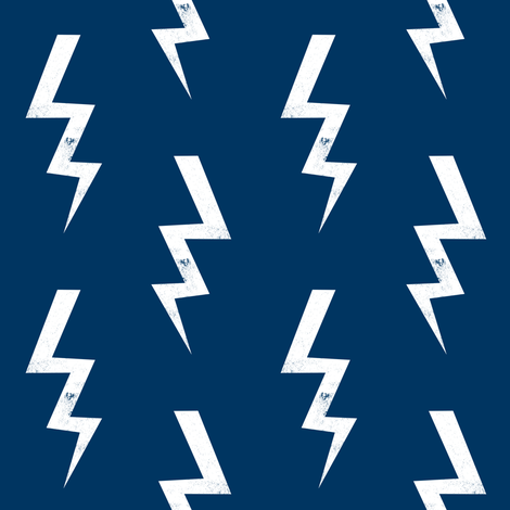 bolt fabric halloween lightning bolt design super hero bolt design navy fabric by charlottewinter on Spoonflower - custom fabric