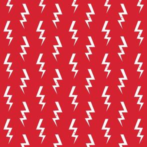 bolt fabric halloween lightning bolt design super hero bolt design red