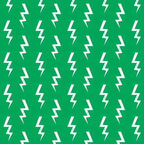 bolt fabric halloween lightning bolt design super hero bolt design green