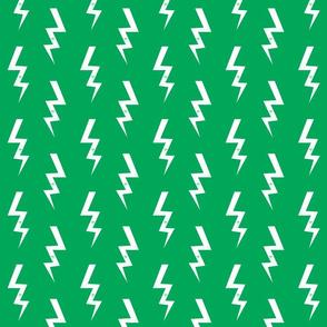 bolt fabric halloween lightning bolt design super hero bolt design green
