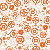 Mechanical gear orange