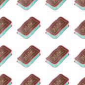 Yummy chocolate mint ice cream sandwich