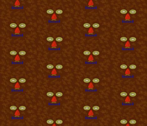 whimsyFruitMonster fabric by suzy_q_designs_studio on Spoonflower - custom fabric