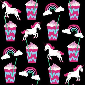 unicorn coffee iced coffees and unicorns black