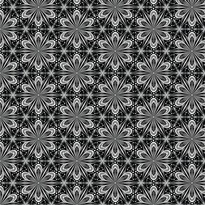 Mandala Lace (B&W)(sm)