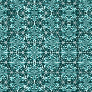 Mandala Lace (teal)(sm)