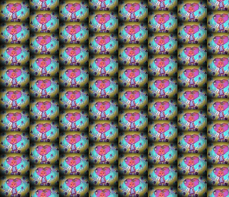 HoneyComb Save the Bees fabric by cosmicsevyn on Spoonflower - custom fabric