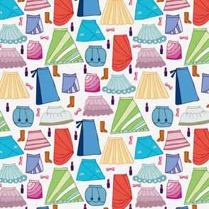 Skirts02 : Dots Background
