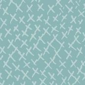 Criss Cross Turquoise