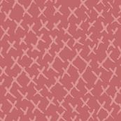 Criss Cross Pink Mauve