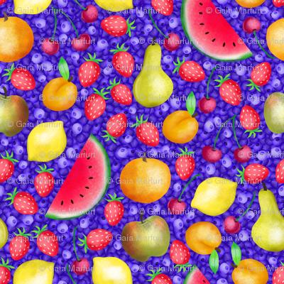 watercolorfruit
