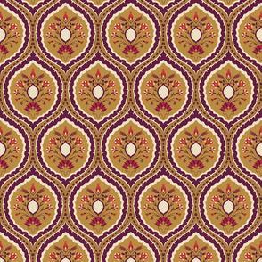 persian tapestry style design