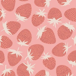 Strawberries - Pink