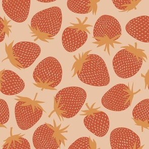 Strawberries - red/gold