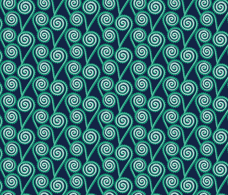 fiddleheads fabric by jillbyers on Spoonflower - custom fabric