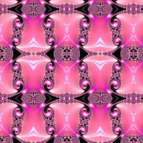 Fractal Pink Gem