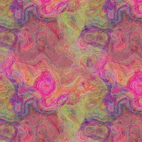ABSTRACT FRUIT SALAD GRAPHIC TURBULENCES
