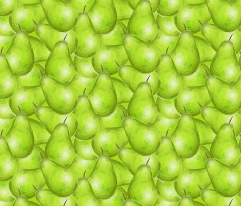 Pear Shaped fabric by seesawboomerang on Spoonflower - custom fabric