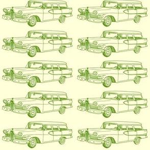 1958 Edsel Villager station wagon