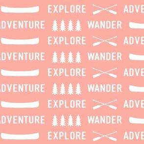 explore wander adventure