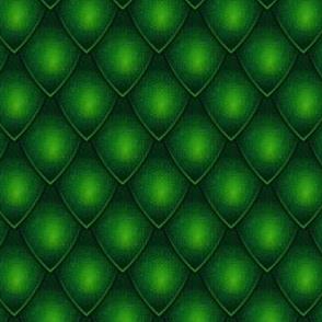 Dragon Scale - Dark Green