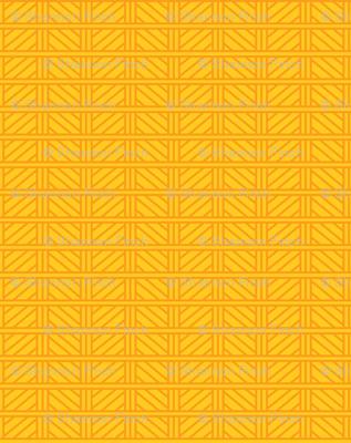 Kitsch Tiki - Swizzle Weave - Yellow