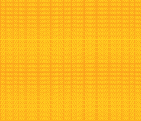 Kitsch Tiki - Swizzle Weave - Yellow fabric by shannanigan on Spoonflower - custom fabric