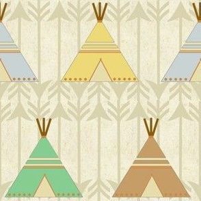 Native American Tee Pee Design