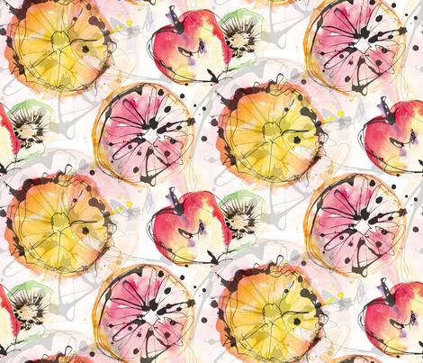 Waterfru fabric by artishark on Spoonflower - custom fabric