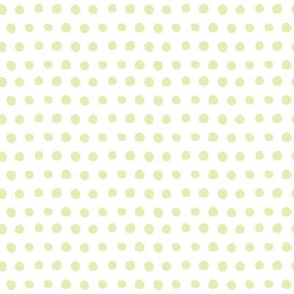 Minty Watercolor Polka Dots