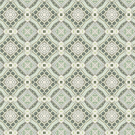 Vintage Teatime fabric by whimsydesigns on Spoonflower - custom fabric