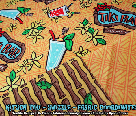 Kitsch Tiki - Swizzle - Yellow