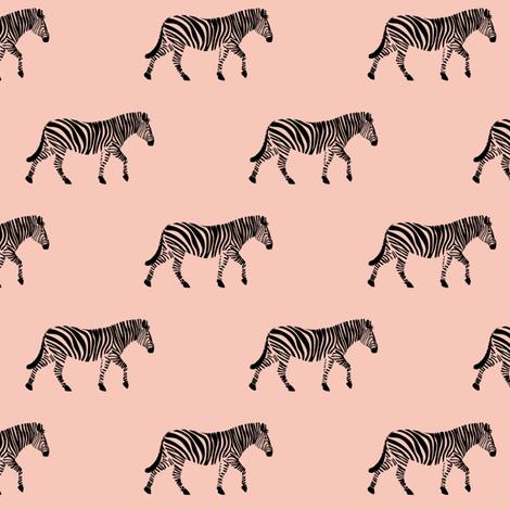 zebra  - 12 fabric by littlearrowdesign on Spoonflower - custom fabric
