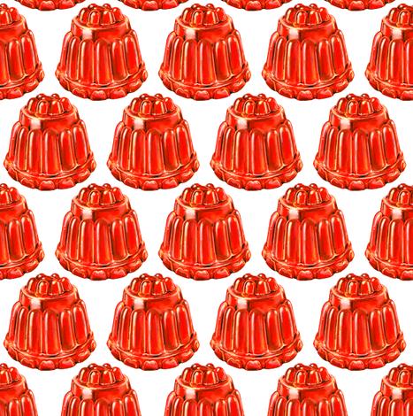 Jello Mold fabric by kellygilleran on Spoonflower - custom fabric