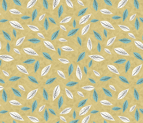 birdwaves-sand fabric by gaiamarfurt on Spoonflower - custom fabric