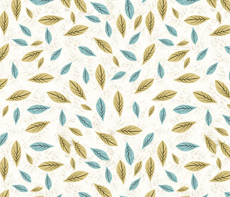birdwaves-white fabric by gaiamarfurt on Spoonflower - custom fabric
