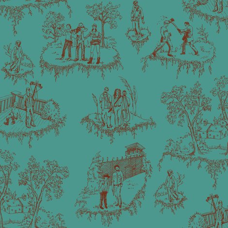 Rtoille_walking_dead_tile_red_on_teal_shop_preview